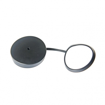 Protective cap for eyepiece of an optical sight