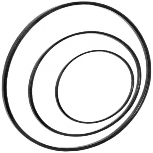 Seals for hydraulic and pneumatic equipment - type P rings